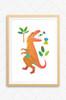 'T-Rex & Triceratops' Prints (2 Pack)  |  Kids Wall Art