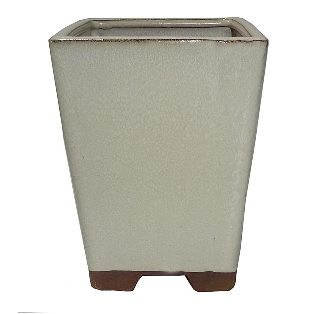 Beige Square Pot - CGS6-4BE