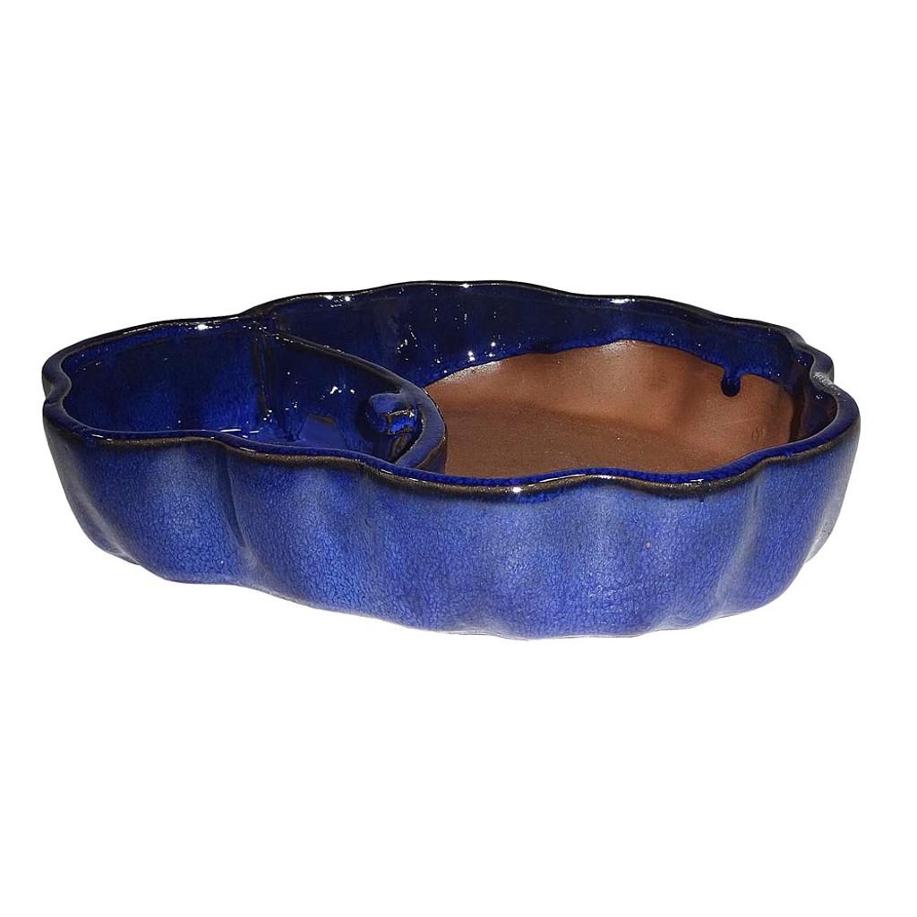Large Blue Odd Shaped Water Pot - CGPLA4-9BL