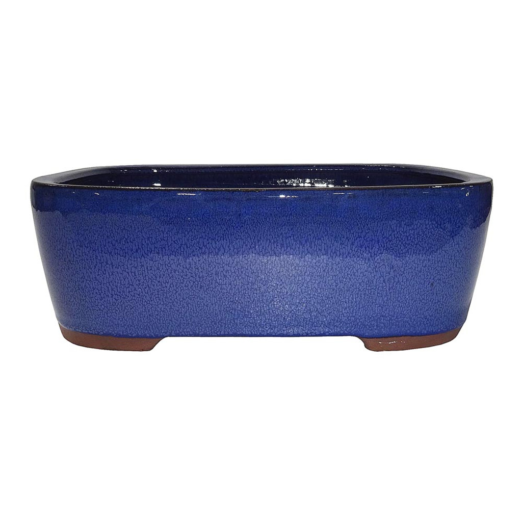 Large Blue Rectangle Pot - CGG73-10BL