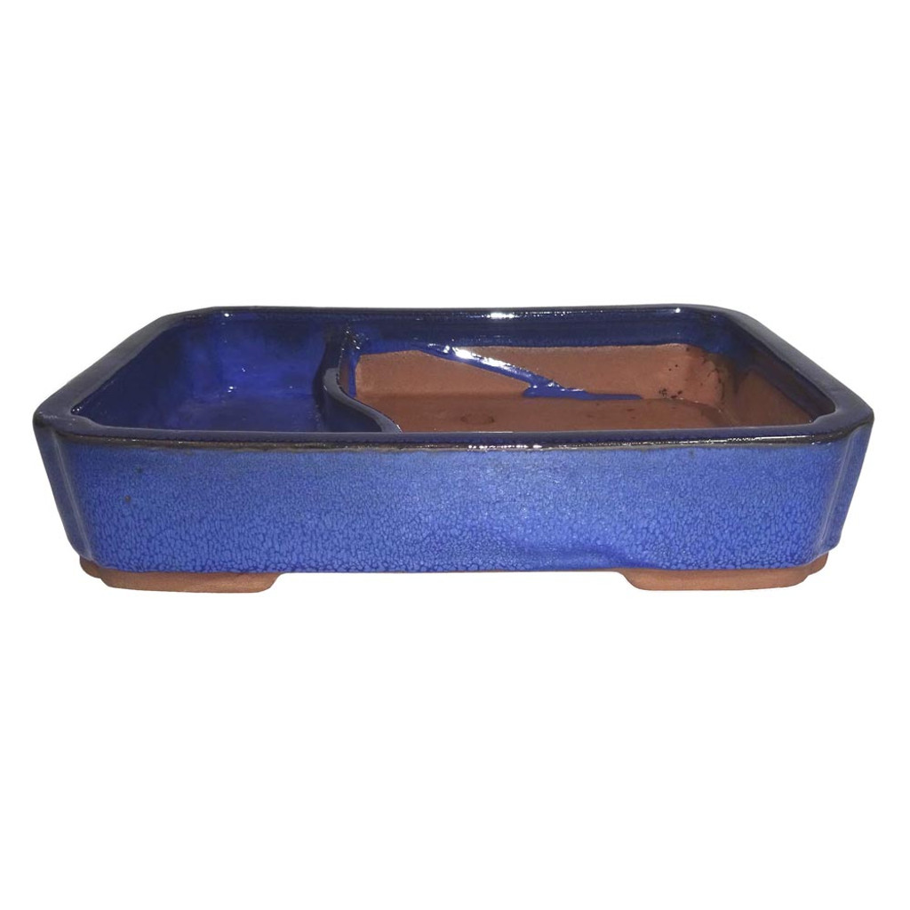 Large Blue Rectangle Water Pot - CGLWLG6-10BL
