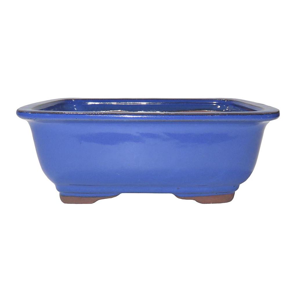 Medium Light Blue Rectangle Pot - CGG91-8LB