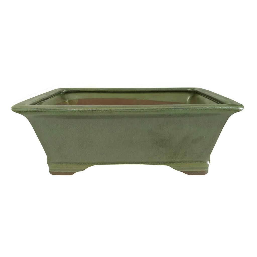 Medium Sesame Green Rectangle Pot - CGG93-8SGN