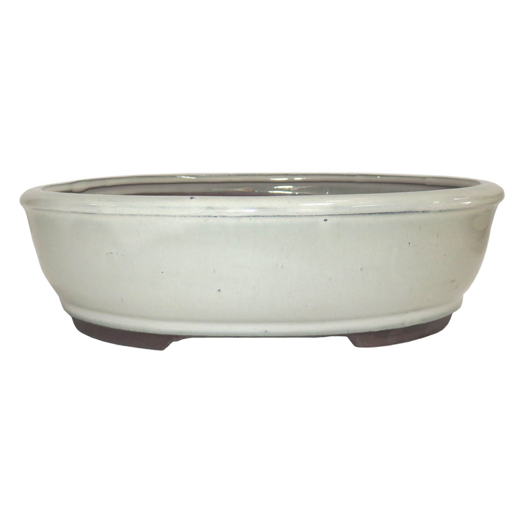 Large New Cream Oval Pot - CGO3-10NCM