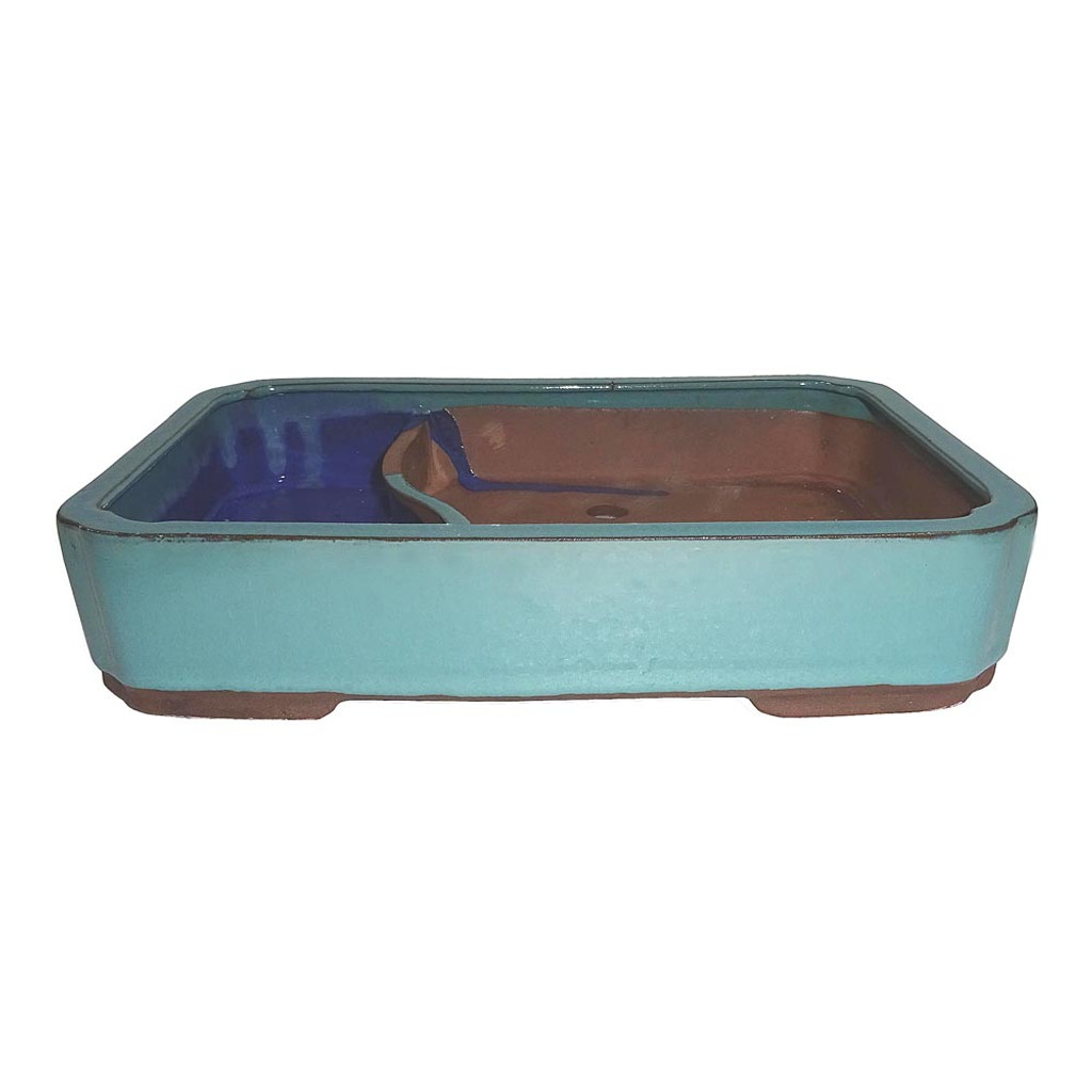 Large Green Rectangle Water Pot - CGLWLG6-10GN