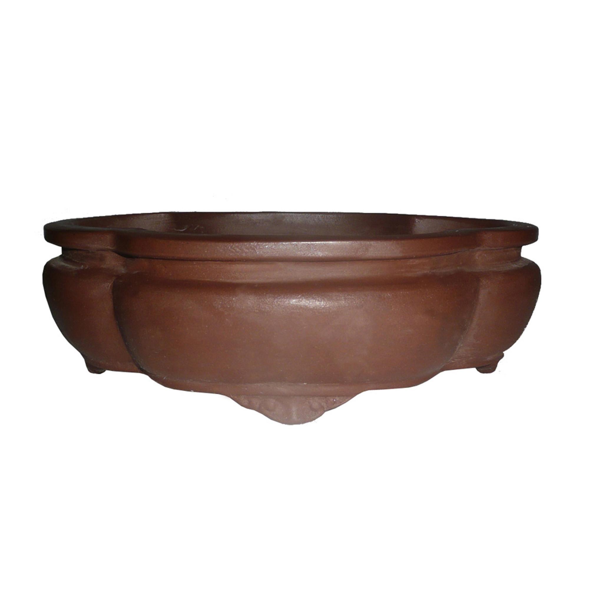 Brussel S 12 Unglazed Ceramic Lotus Bonsai Pot Brussel S Bonsai