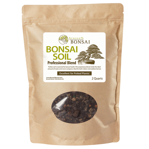 Brussel's Bonsai Professional Blend Soil - 2 Qt Bag - SPBS2Q