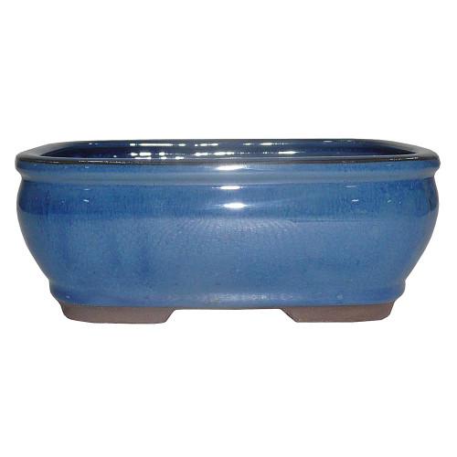 Medium Blue Rectangle Pot - CGG92-8BL