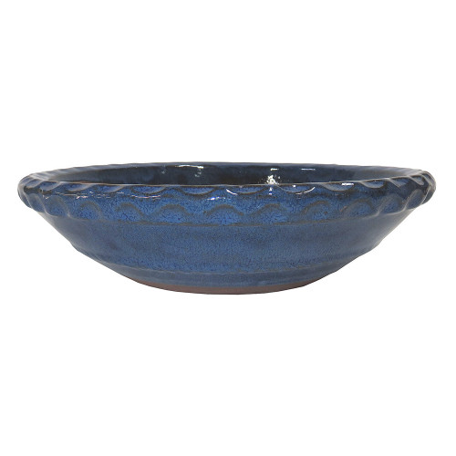 Large Blue Round Pot - CGR30-12BL