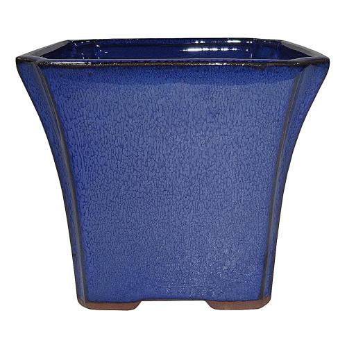 Small Blue Square Pot - CGS18-5BL