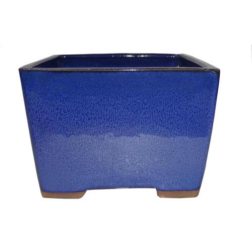 Small Blue Square Pot - CGS20-6.5BL