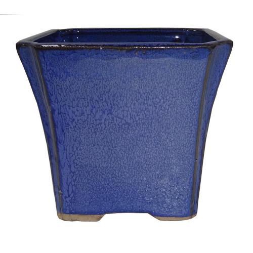 Small Blue Square Pot - CGS18-4.5BL