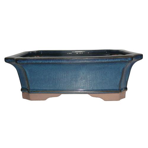 Small Teal Rectangle Pot - CGG4-6DMG