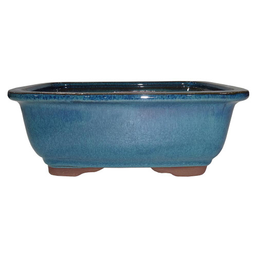 Medium Teal Rectangle Pot - CGG91-8DMG