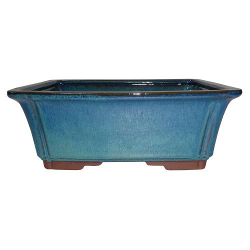 Large Teal Rectangle Pot - CGG58-10DMG