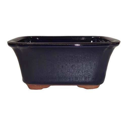 Small Dark Navy Rectangle Pot - CGG58-6DN