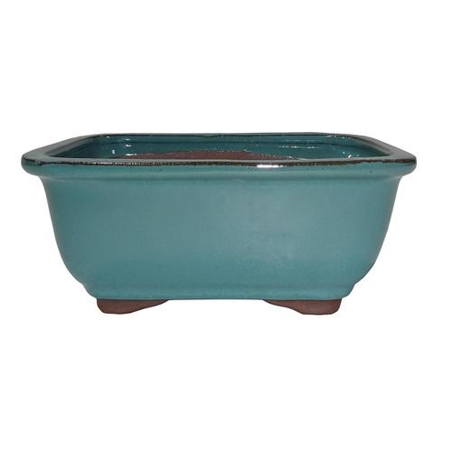 Small Green Rectangle Pot - CGG91-6GN