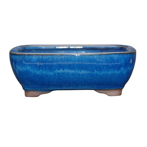Small Blue Rectangle Pot - CGG5-6BL