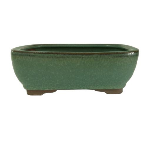 Small Green Rectangle Pot - CGG5-6GN
