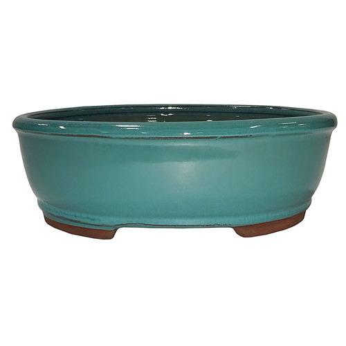 Small Green Oval Pot - CGO3-6GN