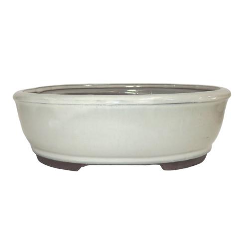 Small New Cream Oval Pot - CGO3-6NCM