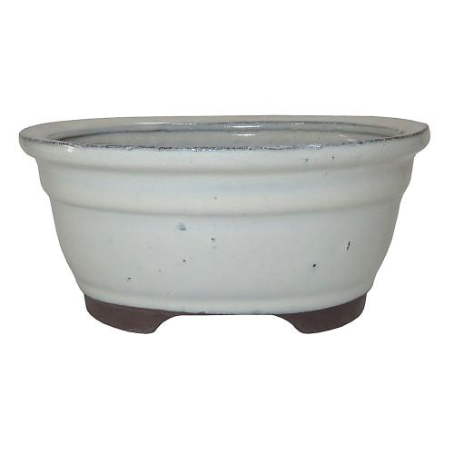 Small New Cream Oval Pot - CGO38-6NCM