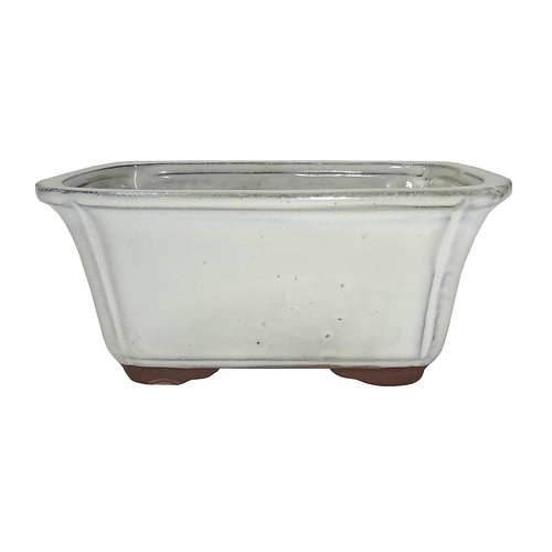 Small New Cream Rectangle Pot - CGG58-6NCM