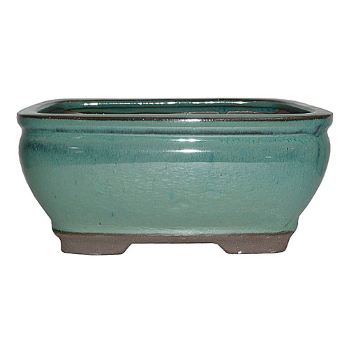 Small Green Rectangle Pot - CGG92-6GN