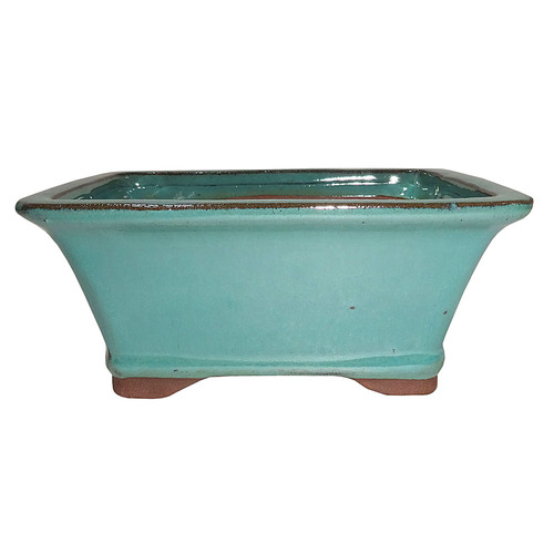 Small Green Rectangle Pot - CGG93-6GN