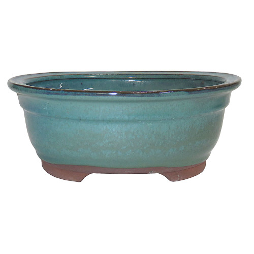 Medium Green Oval Pot - CGO38-8GN