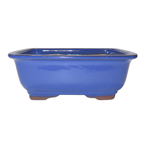 Medium Light Blue Rectangle Pot - CGG91-8LB