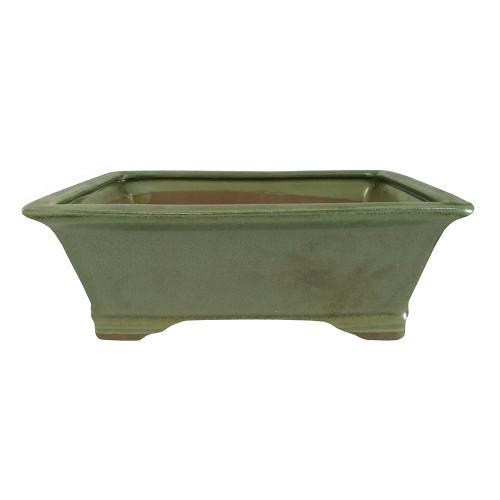 Medium Sesame Green Rectangle Pot - CGG93-8SGN