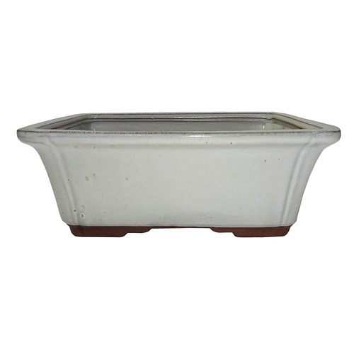 Large New Cream Rectangle Pot - CGG58-10NCM