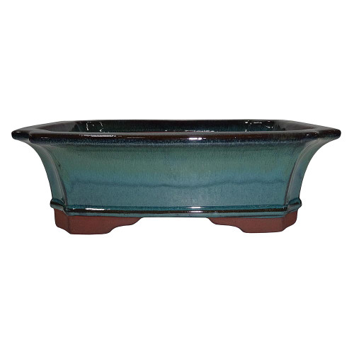 X-Large Teal Rectangle Pot - CGG4-12DMG+MG