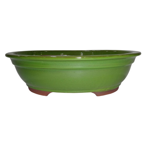 XX-Large Serpent Green Oval Pot - CGO38-14STG