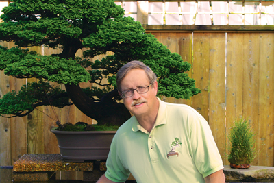 Brussel's love of bonsai started when he was a child