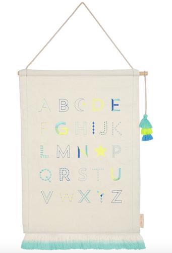 Boys Alphabet Wall Decor