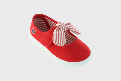 Red Bow Mary Jane Sneakers