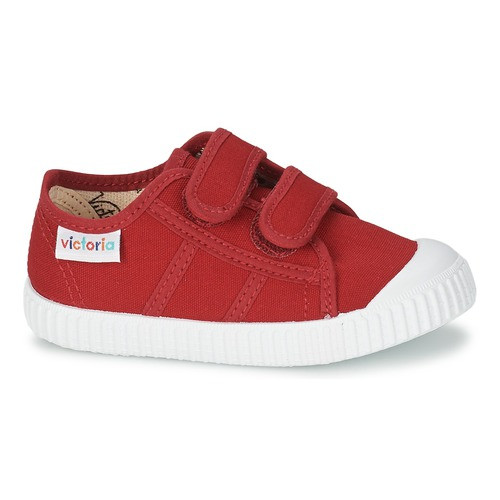 Red Velcro Sneakers