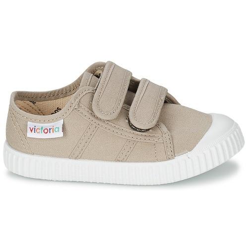 Beige Velcro Sneakers