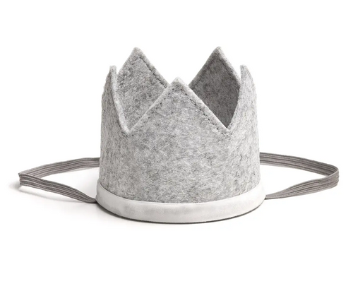 Gray/White Crown