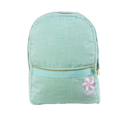 Mermaid Chambray Medium Backpack