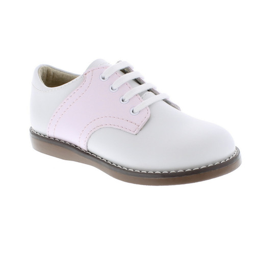 Saddle Oxfords in Pink