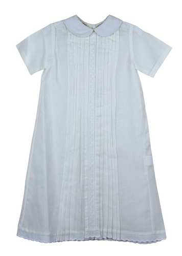 White Batiste Boy Daygown