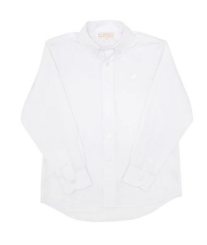 Dean's List Dress Shirt - Worth Avenue White