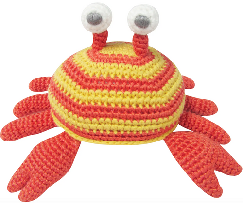 Crochet Crab Rattle