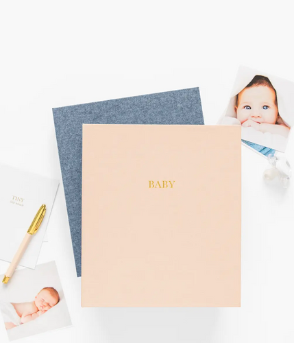 Baby Book - Pale Pink