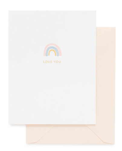 Rainbow, Love You Card