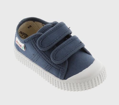Jean Velcro Sneakers