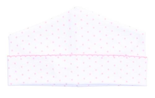 Pink Mini Dots Hat
